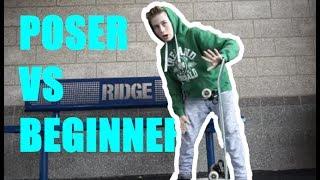 Download POSER SKATERS vs BEGINNER SKATERS Video