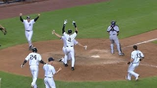 Download Yanks win in an unusual walk-off Video