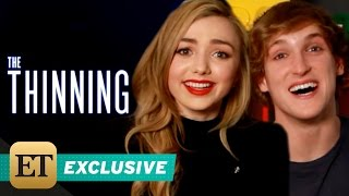 Download EXCLUSIVE: Peyton List and Logan Paul Reveal 5 On-Set Secrets From 'The Thinning' Video