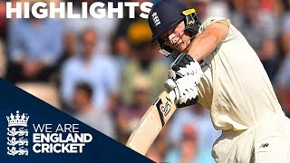 Download Resilient Buttler and England Frustrate India | England v India 4th Test Day 3 2018 - Highlights Video