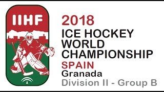 Download 2018 IIHF ICE HOCKEY MEN'S W.C. Div. II Group B - Mexico vs. Luxembourg Video