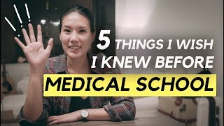 Download 5 THINGS I WISH I KNEW BEFORE MEDICAL SCHOOL! Video
