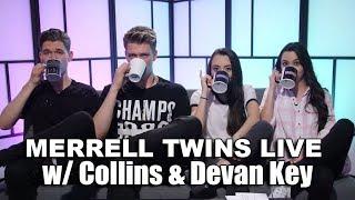 Download MERRELL TWINS LIVE feat. Collins & Devan Key Video