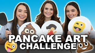 Download Pancake Art Challenge with Rosanna Pansino - Merrell Twins Video