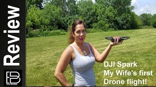 Download DJI Spark: My wife's first drone flight Video