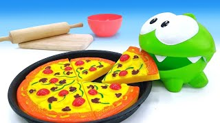 Download Om Nom. How to Make Play-Doh Pizza Video