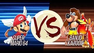 Download Super Mario 64 VS Banjo-Kazooie Video