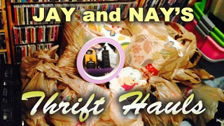 Download Thrifty Business Thrift Haul With Jay, Nay & Peggy Too Video