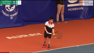 Download SBOROWSKY (FRA) vs GUSIC (GBR) - Open Super 12 Auray Tennis - Boys Final Video