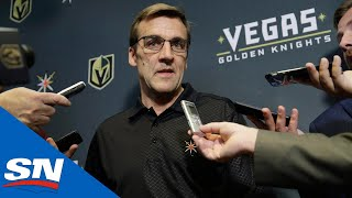Download George McPhee Talks Vegas Golden Knights In Year 2 & Growing The NHL in Las Vegas | Full Interview Video
