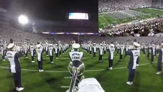 Download Penn State Blue Band GoPro White Out Pregame vs. Ohio State 10/25/14 Video