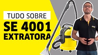 Download Extratora Kärcher SE 4001 - Entrega Técnica Video