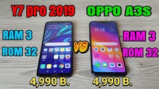 Download Y7 pro 2019 vs OPPO A3s Video