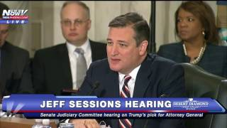 Download TED CRUZ Goes Off On Democrats At Jeff Sessions Hearing Video
