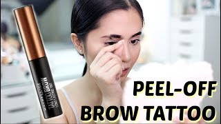 Download Maybelline Tattoo Brow Gel Tint Review | Anna Cay ♥ Video