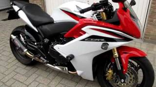 Download CBR600F 2011 V-Trec levers BOS R&G Tail Tidy and Crash Protectors.MOV Video
