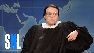 Download Weekend Update: Ruth Bader Ginsburg on Not Retiring - SNL Video