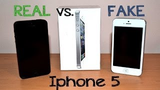 Download Real vs Fake Iphone 5 / SE - Best 1:1 Copy - China clone - Full Review [HD] Video
