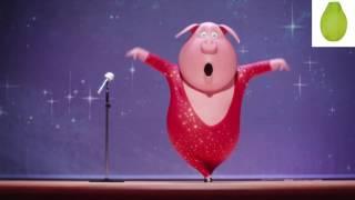 Download SING Movie Trailer Pig Spot #7 ″Shake It Off″ 😍 Rosita and Gunter Video