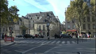 Download Walk around Paris France Notre Dame Cathedral Musée d'Orsay Pont Alexandre III Video