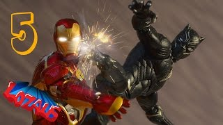 Download IRONMAN STOP MOTION Action Video Part 5 with Black Panther & Superior Spiderman Video