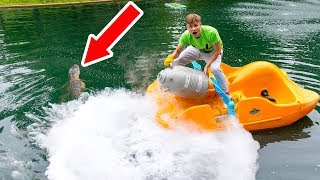 Download FREEZING POND MONSTER WITH LIQUID NITROGEN!! Video