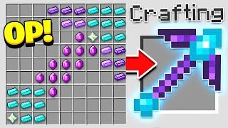 Download HOW TO CRAFT A $1,000 PICKAXE! *OVERPOWERED* (Minecraft 1.13 Crafting Recipe) Video