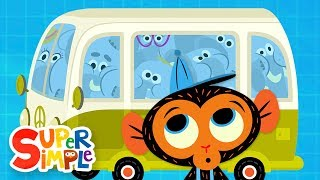 Download The Elephant Family's Van Is Too Small | Cartoon For Kids Video