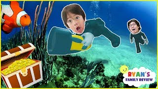 Download ROBLOX Scuba Diving at Quill Lake! Let's Play with Ryan's Family Review! Video