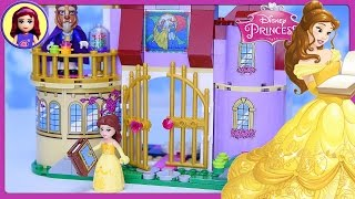 Download LEGO Disney Princess Belle's Enchanted Castle Set Build Review Silly Play - Kids Toys Video