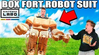 Download BOX FORT ROBOT SUIT!! 📦🤖 Nintendo LABO Box Fort & Gameplay Video