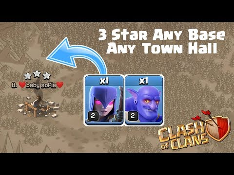 These 2 Troops Can 3 Star Any Base | TH9 TH10 Best Bowitch War Attack Strategy Clash of Clans