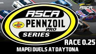 Download NR2003 ASCA Pennzoil Pro Series - S4 - Race 0.25 - Mapei Duels at Daytona Video