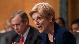 Download Sen. Elizabeth Warren is 'troubled' by Obama's $400k Wall Street speech Video