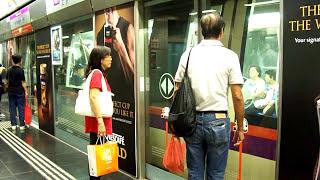 Download Metro/subway in Singapore, Singapore (MRT) 地铁在新加坡 Video