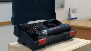 Download Bosch GO - The Only Smart Screwdriver. A Simple Push. A Perfect Finish! Video