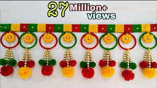 Download Best out of waste Bangles and Wool Craft Idea / DIY Cool Craft Video