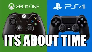 Download PlayStation 4 goes cross play!!! FINALLY!!!!! Video