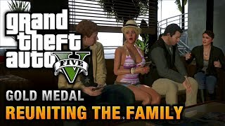 Download GTA 5 - Mission #62 - Reuniting the Family [100% Gold Medal Walkthrough] Video