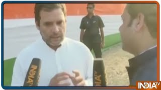 Download Rahul Gandhi: Narendra Modi के सामने जो नहीं झुकता वो उससे डरते हैं   IndiaTv Exclusive Interview Video