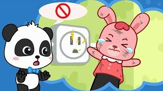 Download Rabbit Momo, Don't Touch the Electricity | Safety Tips for Kids | Kids Good Habits | BabyBus Video