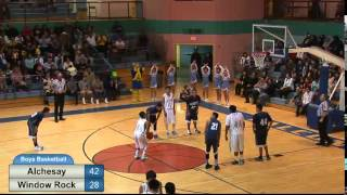 Download Boys Basketball 2/17/15 Alchesay vs. Window Rock Video