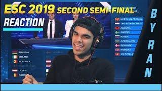Download ESC 2019 Second Semi-Final Results Live Reaction Video