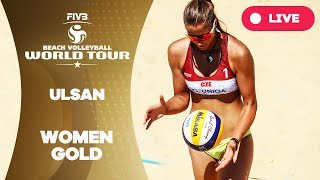 Download Ulsan 1-Star - 2018 FIVB Beach Volleyball World Tour - Women Gold Medal Match Video