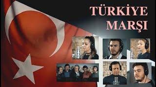 Download Ünlü Sanatçılardan TÜRKİYE MARŞI (2018) Video