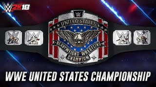 Download WWE 2K18 - How To Make The WWE United States Championship [Custom] Video