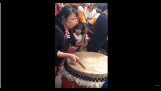Download 江湖人稱嶺南女鼓王,黃飛鴻第四代弟子,醒獅鼓打得真好 Video