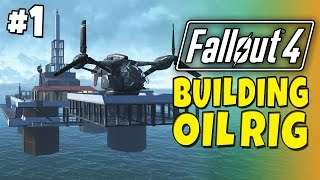 Download Fallout 4 - Building a Oil Rig #1 Video