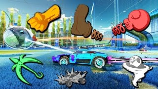 Download MODDED 1 SECOND RUMBLE = THE BEST GAME MODE EVER! | ROCKET LEAGUE Video