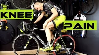Download Bike Fitting - 4 Main Knee Pain Syndromes Of Cyclists. Saddle / cleats position... Video